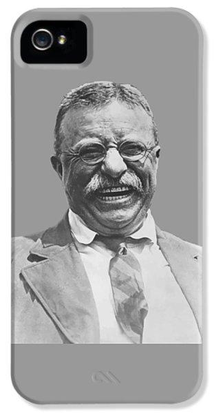 President Teddy Roosevelt IPhone 5 Case