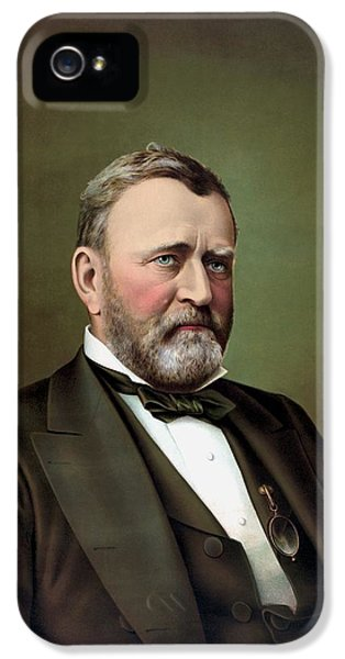 President Ulysses S Grant Portrait IPhone 5 Case