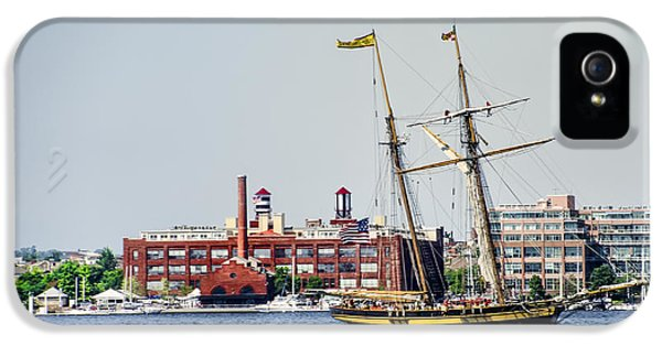 Pride Of Baltimore IPhone 5 Case by Bill Cannon