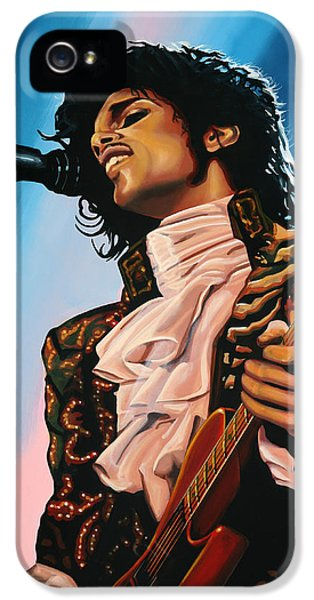 Prince Painting IPhone 5 Case