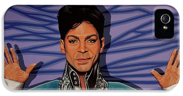 Rhythm And Blues iPhone 5 Case - Prince 2 by Paul Meijering