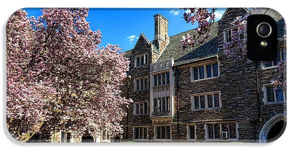 Princeton University Pyne Hall Courtyard IPhone 5 Case by Olivier Le Queinec