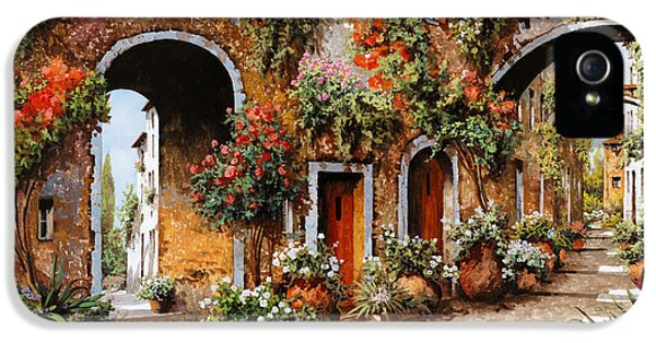 Town iPhone 5 Case - Profumi Di Paese by Guido Borelli