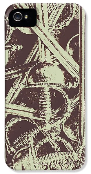 French iPhone 5 Case - Protecting The Iron Gate by Jorgo Photography - Wall Art Gallery