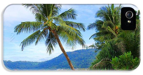 Phuket Patong Beach IPhone 5 Case by Mark Ashkenazi