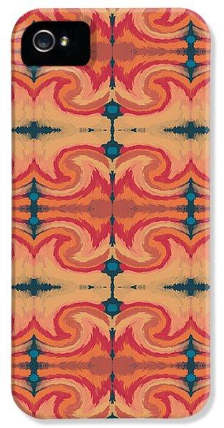Repeat iPhone 5 Case - Pumpkin Spice 2- Art By Linda Woods by Linda Woods