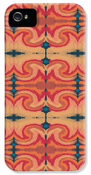 Pumpkin Spice 2- Art By Linda Woods IPhone 5 Case