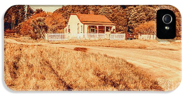 Quaint Country Cottage IPhone 5 Case by Jorgo Photography - Wall Art Gallery