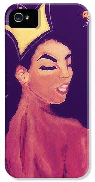 Queen Bee  IPhone 5 Case by Miriam Moran