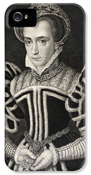 Queen Mary Aka Mary Tudor Byname Bloody IPhone 5 Case
