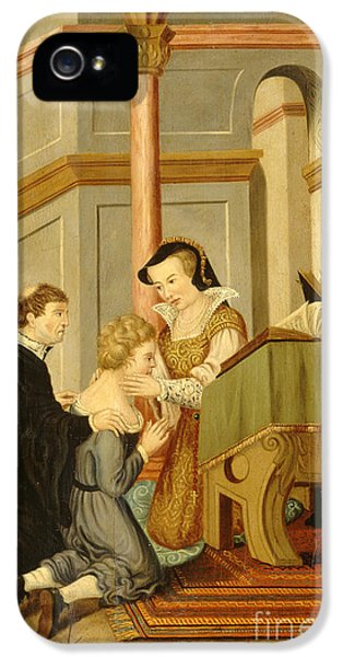 Queen Mary I Curing Subject With Royal IPhone 5 Case