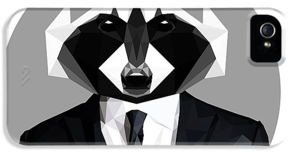 Raccoon IPhone 5 Case by Gallini Design