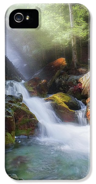 IPhone 5 Case featuring the photograph Race Brook Falls 2017 by Bill Wakeley