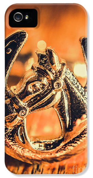 Pendant iPhone 5 Case - Racehorse Luck by Jorgo Photography - Wall Art Gallery