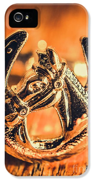 Racehorse Luck IPhone 5 Case by Jorgo Photography - Wall Art Gallery