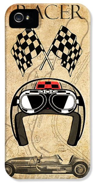 Racer IPhone 5 Case by Greg Sharpe
