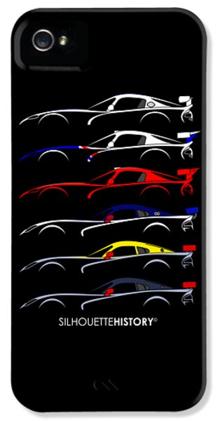 Racing Snake Silhouettehistory IPhone 5 Case by Gabor Vida