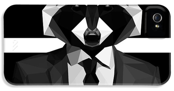 Racoon IPhone 5 Case by Gallini Design