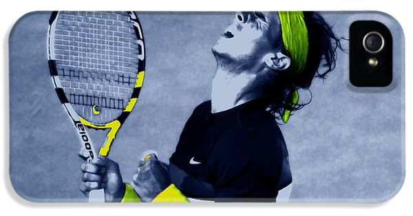 Serena Williams iPhone 5 Case - Rafael Nadal 1a by Brian Reaves
