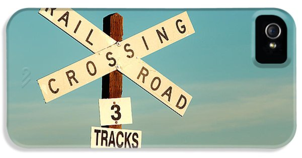 Railroad Crossing IPhone 5 Case