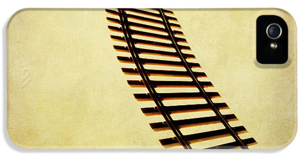 Train iPhone 5 Case - Railway by Bernard Jaubert