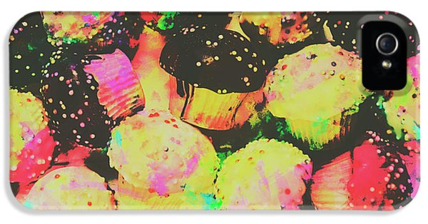 Rainbow Color Cupcakes IPhone 5 Case