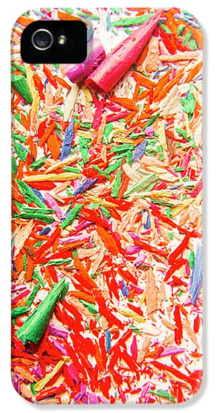 Damage iPhone 5 Case - Rainbow Shatters  by Jorgo Photography - Wall Art Gallery
