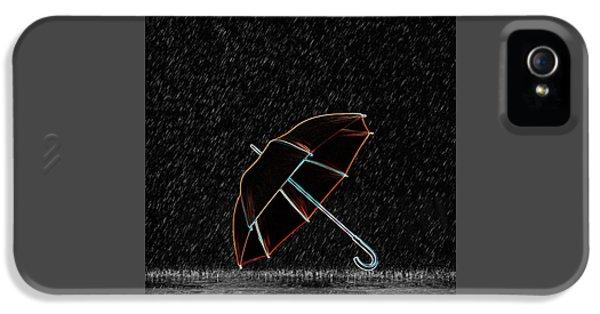 Rainy Night  IPhone 5 Case by Art Spectrum