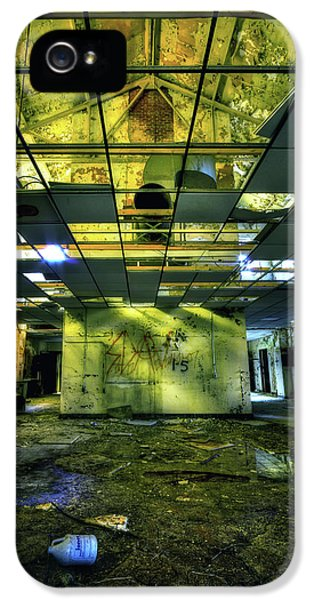 Damage iPhone 5 Case - Raise The Roof by Evelina Kremsdorf