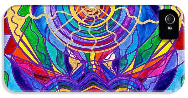 Swan iPhone 5 Case - Raise Your Vibration by Teal Eye  Print Store