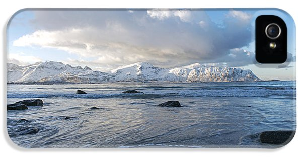 Ramberg Beach, Lofoten Nordland IPhone 5 Case by Dubi Roman