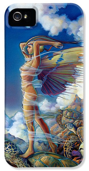 Rapture And The Ecstasea IPhone 5 Case by Patrick Anthony Pierson