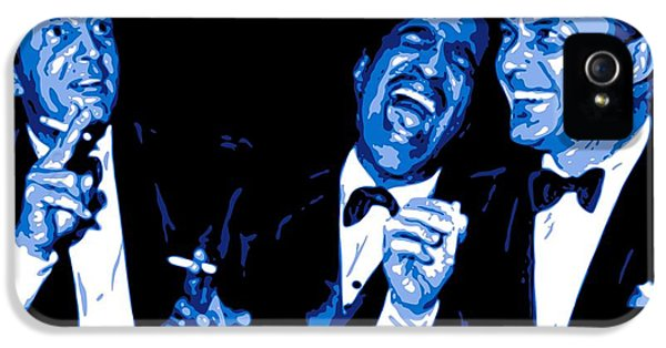 Hollywood iPhone 5 Case - Rat Pack At Carnegie Hall by DB Artist