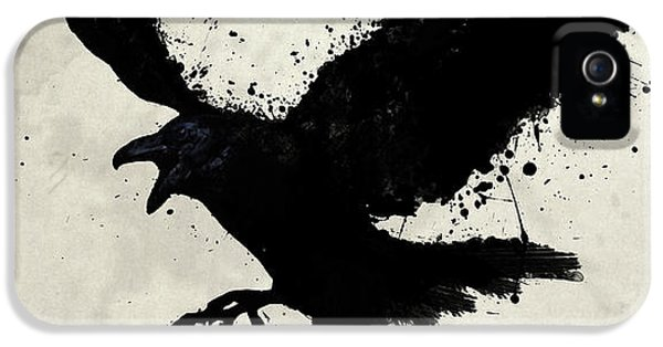 Raven IPhone 5 Case by Nicklas Gustafsson