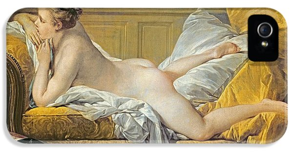 Reclining Nude IPhone 5 Case by Francois Boucher