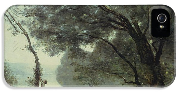 Recollections Of Mortefontaine IPhone 5 / 5s Case by Jean Baptiste Corot