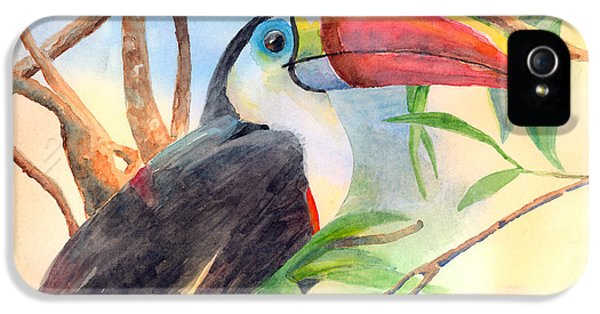 Red-billed Toucan IPhone 5 / 5s Case by Arline Wagner