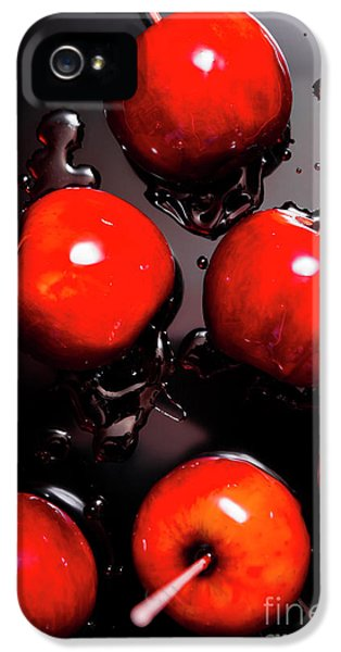 Red Candy Apples Or Apple Taffy IPhone 5 Case