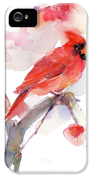 Red Cardinal IPhone 5 Case