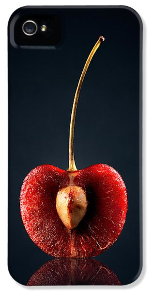 Fruits iPhone 5 Case - Red Cherry Still Life by Johan Swanepoel