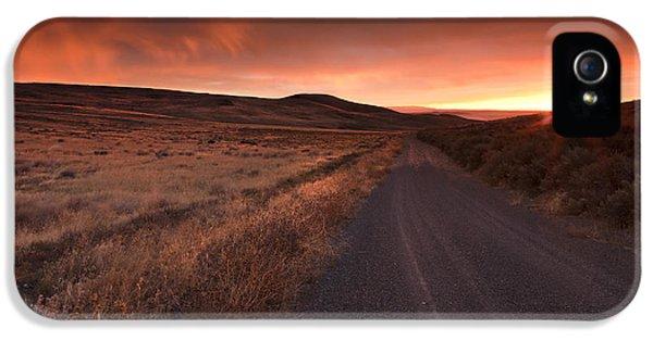 Red Dawn IPhone 5 Case by Mike  Dawson
