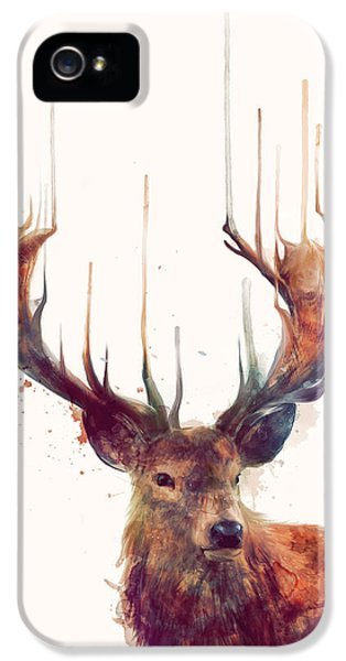 Animals iPhone 5 Case - Red Deer by Amy Hamilton