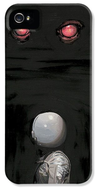 Red Eyes IPhone 5 Case by Scott Listfield
