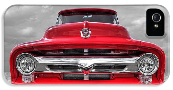 Red Ford F-100 Head On IPhone 5 Case