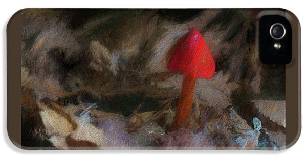 Red Forest Mushroom IPhone 5 Case