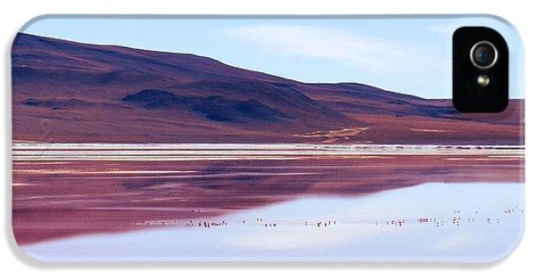 Red Lagoon  - Laguna Colorada IPhone 5 Case