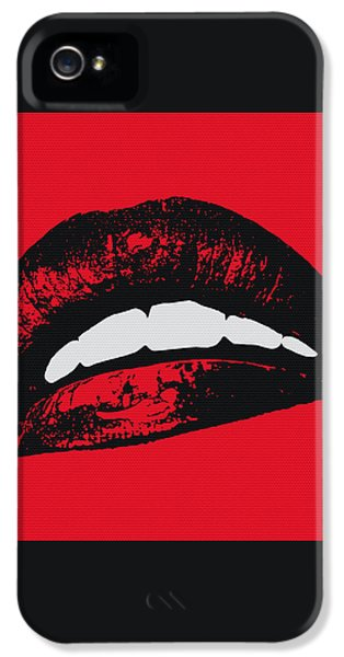 Red Lips IPhone 5 Case