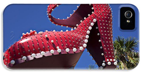 Red Shoe High Heels IPhone 5 Case