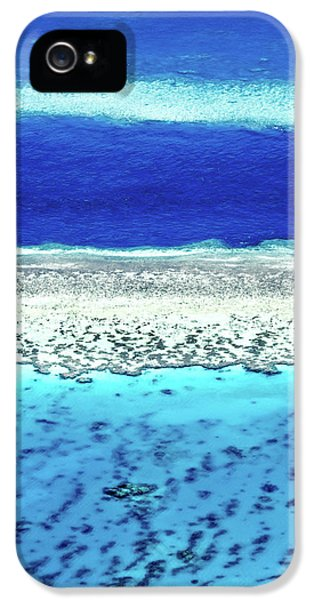 Helicopter iPhone 5 Case - Reefs Edge by Az Jackson