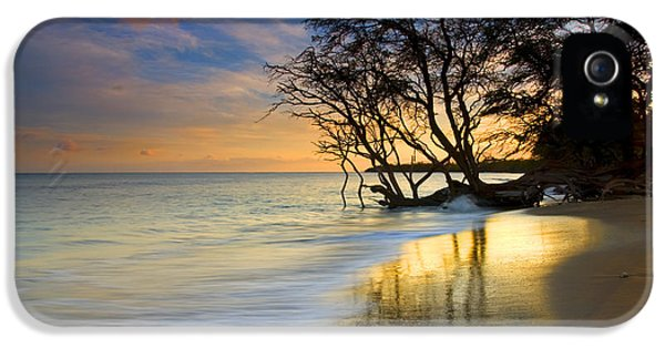 Beach Sunset iPhone 5 Case - Reflections Of Paradise by Mike  Dawson